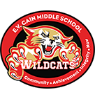 E.V. Cain Middle School Logo